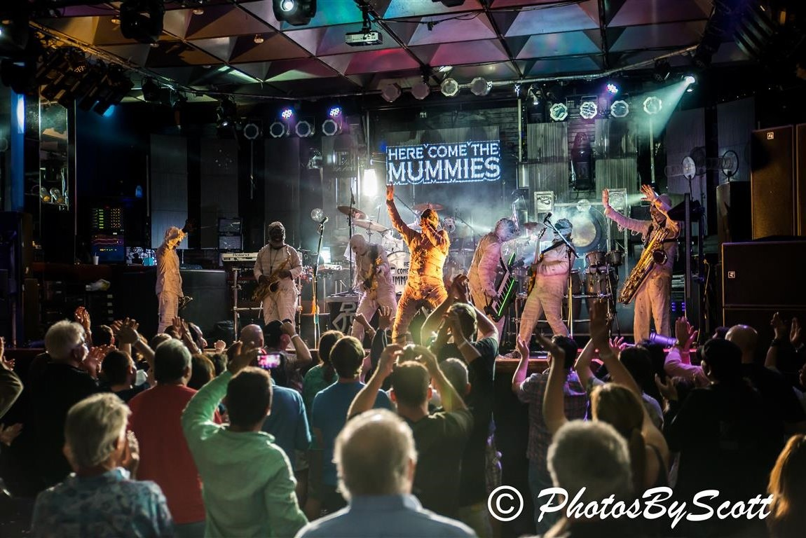 Here Come The Mummies – Culture Room 03/07/2014 | SFL Onstage