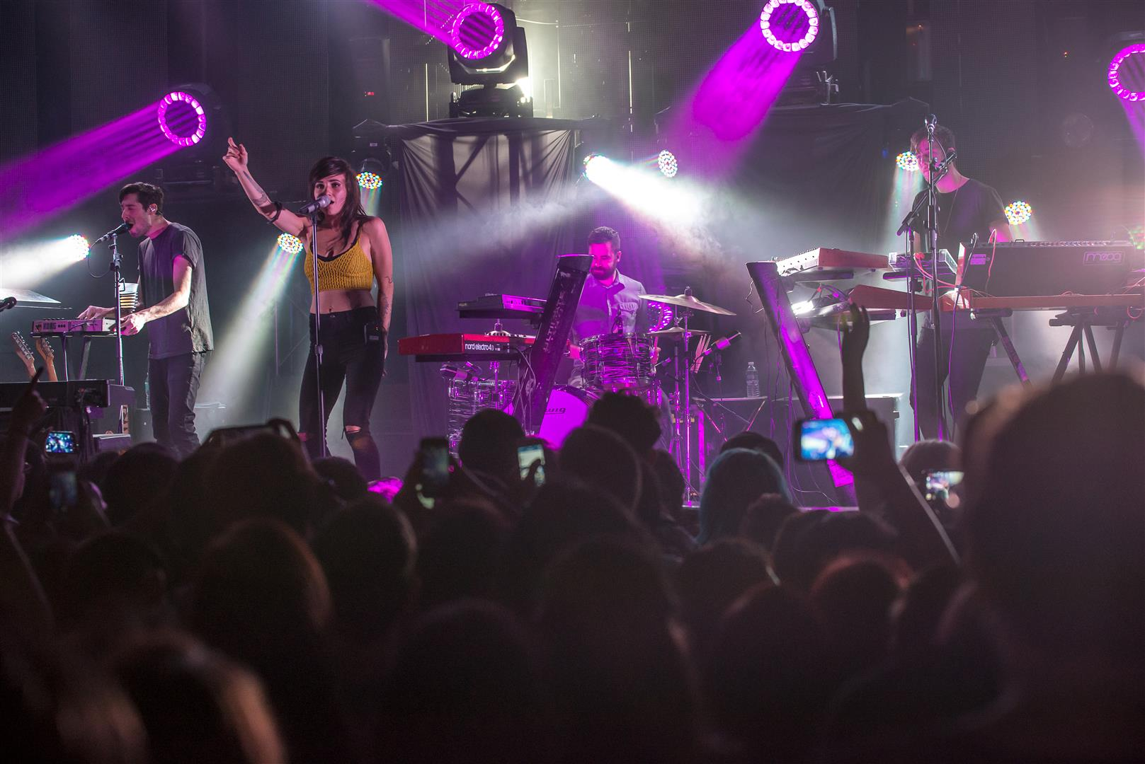 LIGHTS on Little Machines Tour at Culture Room on 2/25/2015   SFL ...