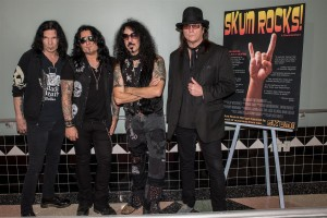 SKUM ROCKS Red Carpet Event QUIET RIOT Colony Theater 03/05/2015 Photo By: Scott Nathanson