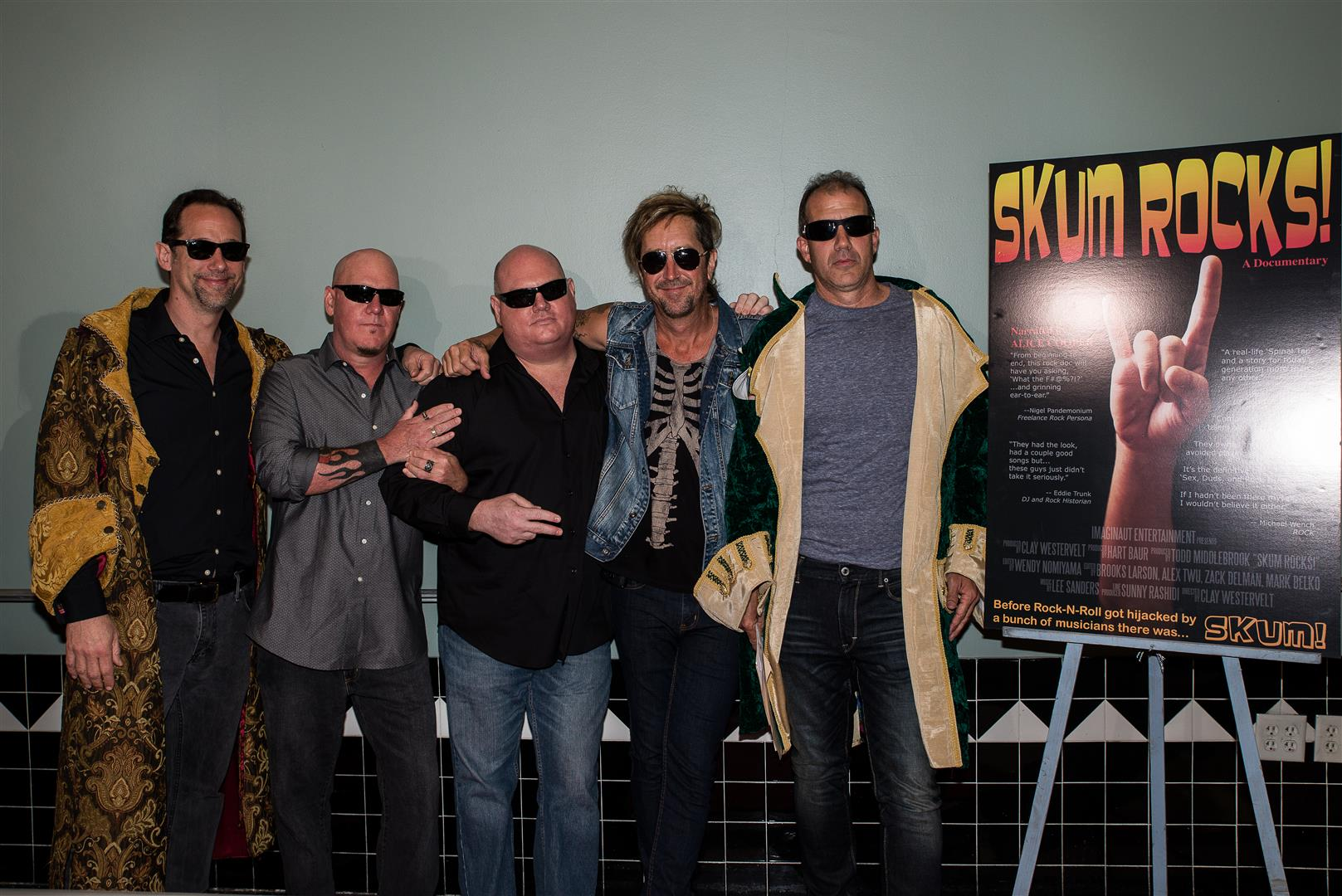 SKUM'S RED CARPET MOVIE EVENT AT THE COLONY THEATER ON 03/05/2015