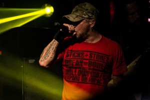 All That Remains Philip Labonte - Vocals Culture Room 4/27/2015 Photo By: Scott Nathanson