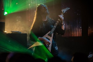 All That Remains Oli Herbert - Guitar Culture Room 4/27/2015 Photo By: Scott Nathanson