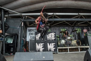 Escape The Fate Coral Sky Amphitheater  July 4, 2015 Photo By: Scott Nathanson