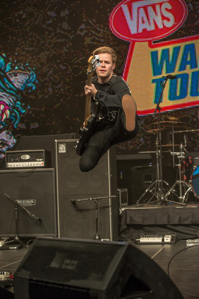 Wage War Vans Warped Tour Announcment at Full Sail University March 22, 2016 Photo By: Scott Nathanson